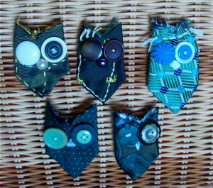 A selection of owls