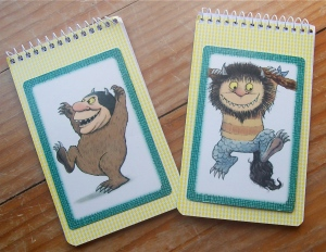 "Very easy ""Where the wild things are"" note books"