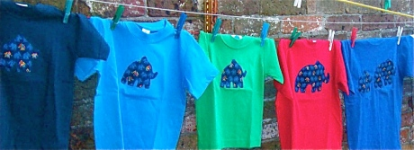 Some Appliqued T-shirts