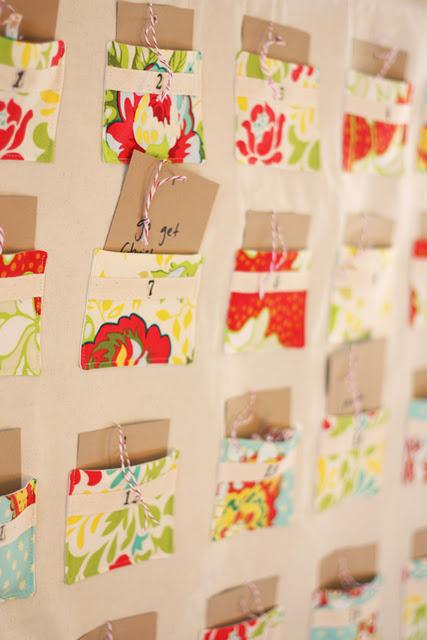 Handmade Calendar Tutorial : Handmade advent calendars… with tutorials harrysdesk