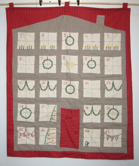 Handmade Calendar Tutorial : Handmade advent calendars… with tutorials harrysdesk