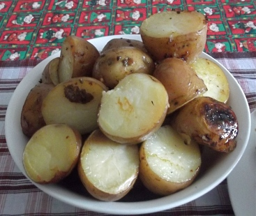 Baked dinner...... potatoes!