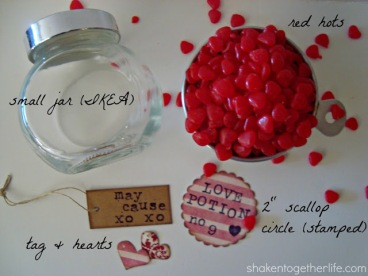 love potion number 9 valentine supplies