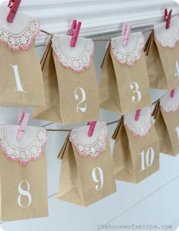 Valentines Advent Calendar - thehouseofsmiths.com