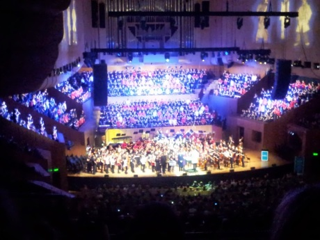Finale at the Opera House! 1000 kids